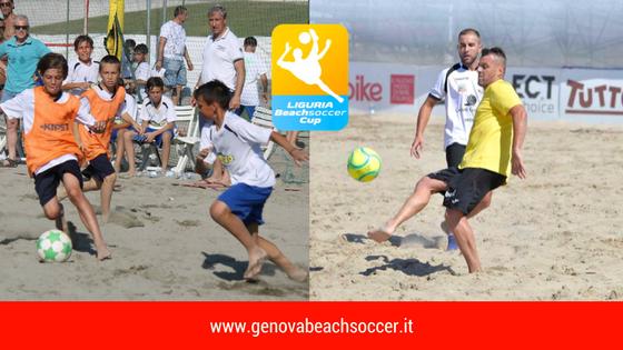 Sale la febbre da Liguria Beach Soccer Cup !