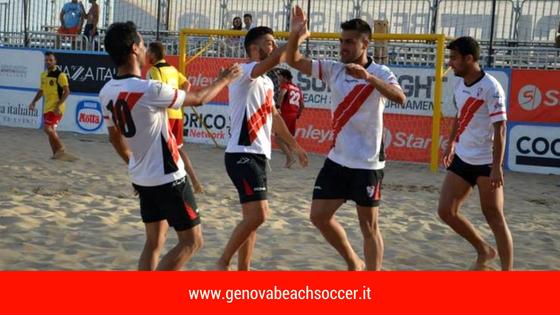 Al via la stagione 2018 della Genova Beach Soccer. Presentata oggi nella sede LND la Liguria Beach Soccer Cup e la Valle Scrivia Beach Arena.