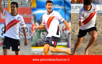 3 Genovesi in serie A di Beach Soccer. Memoli, Rossetti e Oliviero in prestito al Brescia Beach Soccer per la stagione 2018.