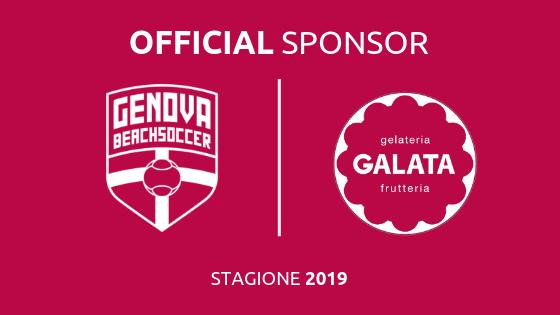 Genova Beach Soccer insieme a Galata gelateria frutteria!