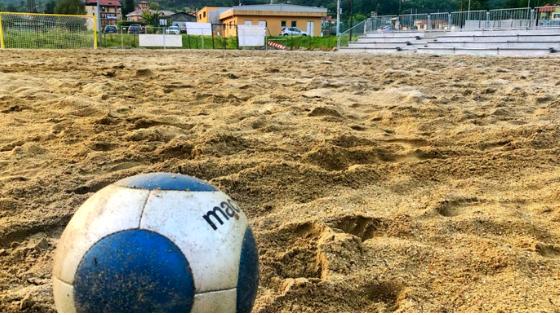 Busalla casa della Genova Beach Soccer anche per il 2019! Partiti i lavori di costruzione della beach arena.