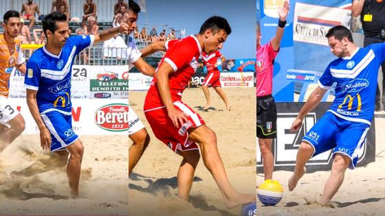 Memoli, Rossetti e Oliviero di nuovo con noi, dopo il prestito al Brescia Beach Soccer!