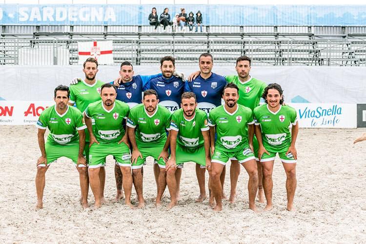 Genova Beach Soccer nella storia, 10° posizione finale in Coppa Italia!