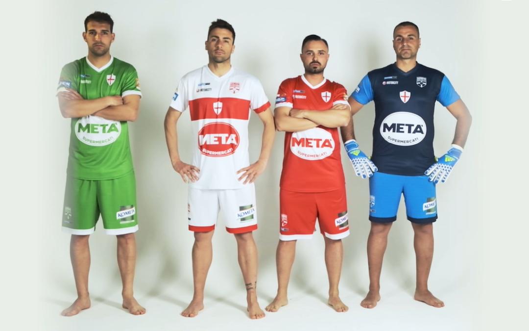 Le nuove maglie da gioco della Genova Beach Soccer, più di una maglia, un legame forte con la città di Genova.