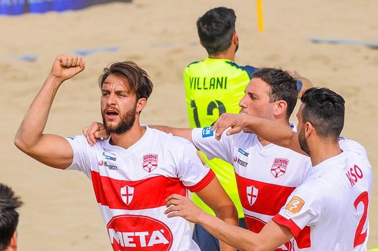 La Genova Beach Soccer torna da Viareggio con 4 punti, storica vittoria nel derby contro l'Entella.