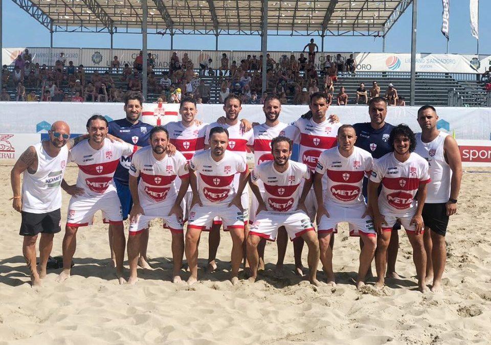 Genova Beach Soccer, a Lignano arriva la salvezza matematica con 3 turni d'anticipo!