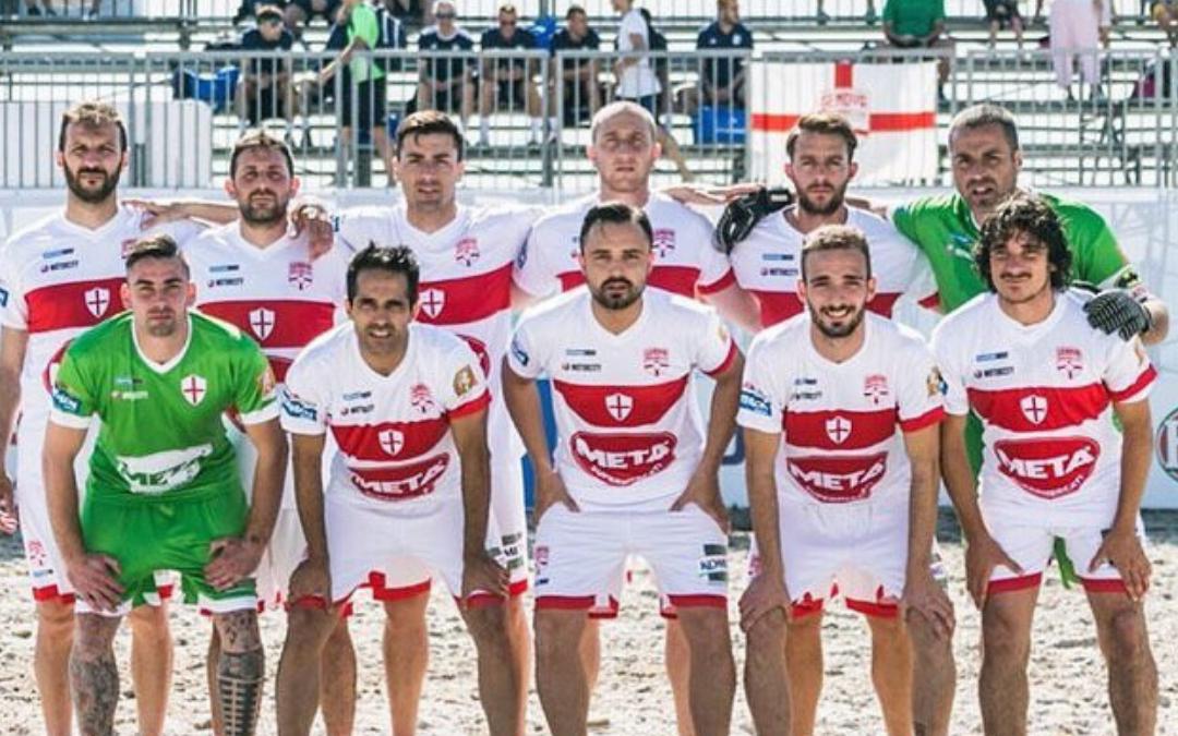 Genova Beach Soccer in partenza per la Calabria. Domani esordio in campionato contro il Naxos.