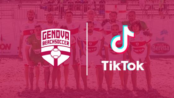 La Genova Beach Soccer ora è anche su Tik Tok!