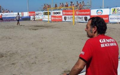Salvatore Mango guiderà la Genova Beach Soccer nella stagione 2021.