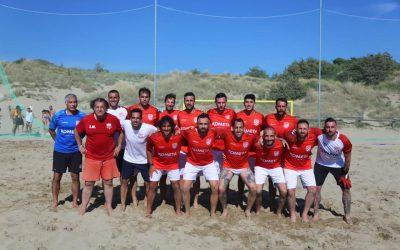 Una vittoria ed una sconfitta nei test di Tirrenia per la Genova Beach Soccer.